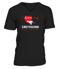 # Greyhound Funny Gift T-shirt for dog lover .  Shirts says: I love my Greyhound funny gift t-shirt for dog lover.Best present for Halloween, Mother's Day, Father's Day, Grandparents Day, Christmas, Birthdays everyday gift ideas or any special occasions.HOW TO ORDER:1. Select the style and color you want:2. Click Reserve it now3. Select size and quantity4. Enter shipping and billing information5. Done! Simple as that!TIPS: Buy 2 or more to save shipping cost!Guaranteed safe and secure…