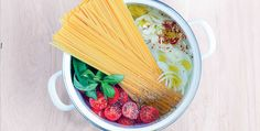 Pasta and sauce all cooked in one pot? Sounds mad but it works! Try Sabrina…
