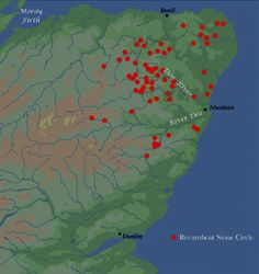 Stone Circles Scotland Map | Stone Circles