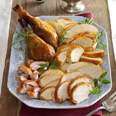 Make-Ahead Turkey and Gravy Recipe from Taste of Home -- shared by Mrs. Marie Parker of Milwaukee, Wisconsin