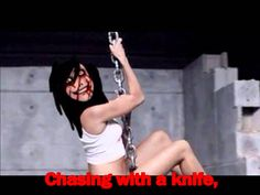 "Jeff The Killer ""Wreaking Ball"" Parody - Lyrics [ORIGINAL] omg this is scary not the lyrics but the song they pick :c"