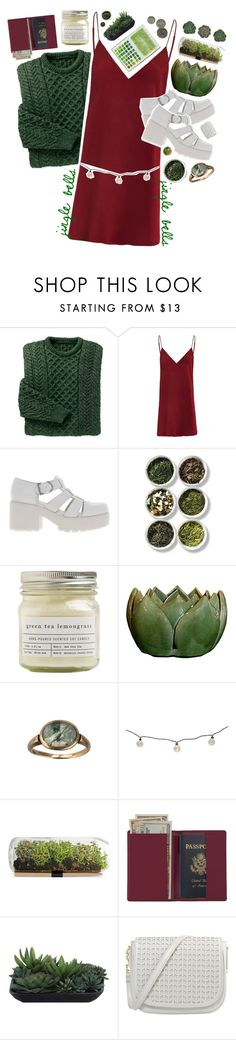 """Jingle Bells, Jingle Bells // Day 9"" by rockgirlfriend15 ❤ liked on Polyvore featuring Vagabond, Tea Collection, Brooklyn Candle Studio, Threshold, Royce Leather, Lux-Art Silks and addys12sets"
