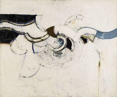 "Paul Feiler (1918-2013) ""Receding Form, Black"", 1966/ Oil on canvas (Godson & Coles)"