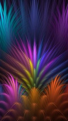 Purple, Violet, Light, Fractal Art Wallpaper for IPhone Abstract Picture, Background and Image Beautiful Nature Wallpaper, Colorful Wallpaper, Beautiful Images, Wallpaper Backgrounds, Mobile Wallpaper, Phone Backgrounds, Wallpaper Huawei, Cellphone Wallpaper, Fractal Images