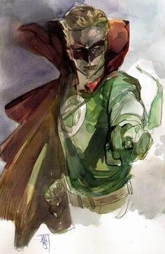 Green Lantern by Alex Maleev