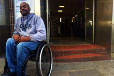 Wheelchair User Races the Tube