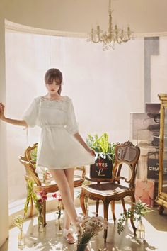 milkcocoa | calla white lace rose blouse