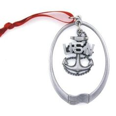 US Navy - Navy Chief's Anchor Pewter Ornament Navy Life, Navy Mom, Us Navy, Navy Chief Anchor, Go Navy Beat Army, Navy Ranks, Navy Chief Petty Officer, Navy Emblem, Word Drawings