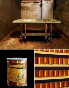Oregon State Hospital  -each of these abandoned canisters held the remains of a patient -they have since been placed in black boxes