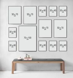 Picture Wall Inspiration How to make a picture wall Nonsense Decor Room, Living Room Decor, Home Decor, Inspiration Wand, Home Interior Design, Interior Decorating, Gallery Wall Layout, Photo Wall Decor, Frames On Wall