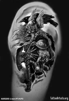 norse God FOR THE RAVEN | Img189889 odin 1 Odin Tattoos
