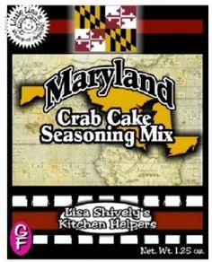 Maryland Crab Cake Seasoning