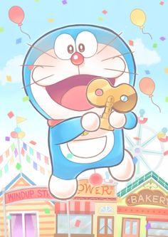Cute doraemon flying with a key Doremon Cartoon, Cute Cartoon Drawings, Galaxy Phone Wallpaper, Wallpaper Iphone Cute, Doraemon Wallpapers, Cute Cartoon Wallpapers, Old Kids Shows, Onii San, Steven Universe Lapis
