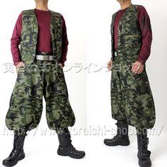 Toraichi 4441-611 Vest 4441-410 Cho long pants