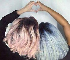 heart / hair