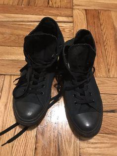 6e089d837e03 CONVERSE Chuck Taylor Unisex Black High Top Mens Size 10  fashion  clothing   shoes
