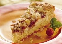 Strawberry Cream Brunch Cake
