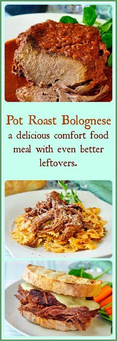 Pot Roast Bolognese Everyone loves a good pasta Bolognese, right? I know our family loves the simple rich beefy taste of a great Bolognese sauce so I thought, why not move outside using just ground beef and try braising a pot roast in the same simple sauce which may be the best flavor enhancer to …