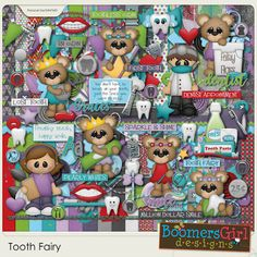 "BoomersGirl Designs: ""Tooth Fairy"" Digital Kit"