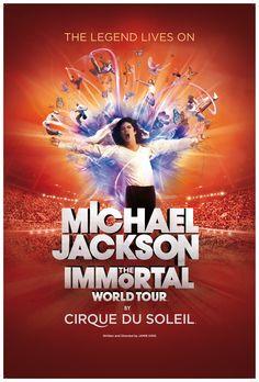 Michael Jackson: The Immortal World Tour at Mandalay Bay in Las Vegas!