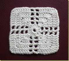 Intersection granny square pattern (in dutch).