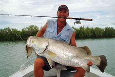 Barramundi fishing in Karumba Queensland. #fishing #australia #bigfish #fishingrod Gone Fishing, Best Fishing, Fishing Tips, Fishing Australia, Monster Fishing, Vintage Fishing Lures, Big Fish, 40th Birthday, Life Is Good
