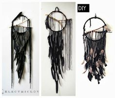 The Twisted Horn: Electric Love Dream Catcher DIY