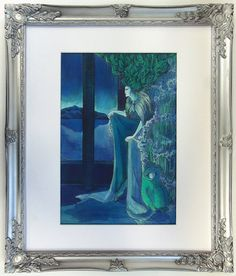 The Snow Queen Made to Order Giclee by StuffIHaveDrawn on Etsy Snow Queen, Etsy Store, Illustration Art, Art Prints, Gallery, Unique Jewelry, Frame, Handmade Gifts, Vintage