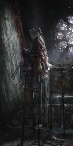 Stu_dts,Dark Souls,фэндомы,painter girl,DSIII персонажи,Dark Souls 3