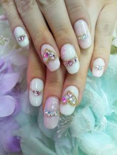 Oh the nails! Some are very cute. But the designs can get very complicated and outrageous