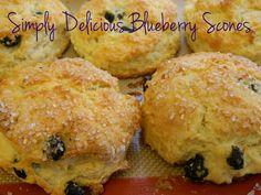 Simply Delicious Blueberry Scones