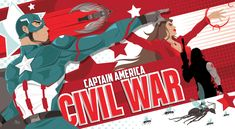 """""""United We Stand, Divided We Fall"""" Behold Phase 3 Of Our Tribute To Marvel's """"Captain America: Civil War"""" – Poster Posse Marvel Captain America, Ms Marvel, Marvel Films, Marvel Avengers, Divided We Fall, Geek Art, Illustrations, Bucky Barnes, Marvel Cinematic Universe"""
