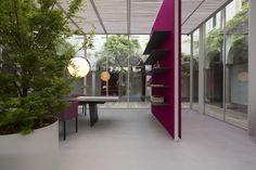 Fuorisalone 2015 at Chiostri dell'Umanitaria © Paola Lenti srl #paolalenti #architecture #furniture #design #decor #designfurniture #complements #creativefurniture #moderndecor #indoor #outodoor #spaces #landscape #fuorisalone #milan #italy #designweek #salonedelmobile