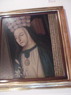 Victorino Garcia Romero (Atribuido) Bogotá 1791-1870  Inés de Masustegui del Santísimo Sacramento Ca 1809, óleo sobre tela.