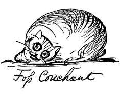 Foss Couchant | by Edward Lear