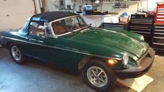 Larry's 1980 MG MGB - AutoShrine Registry