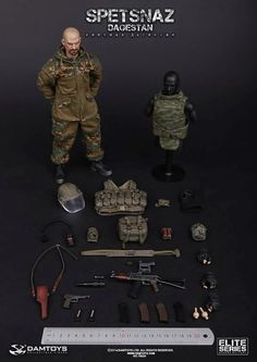 onesixthscalepictures: DAM Toys SPETSNAZ in DAGESTAN