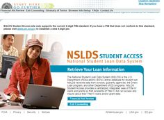 NSLDS Student Access site