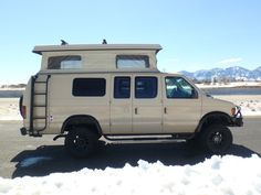 """""""Sportsmobile offers 50 camper van plans or will customize to meet your camping/travel needs, since 1961. Two (2) and four (4) wheel drives, gas and diesel vans. Just the right size. Second home/second car."""