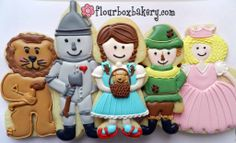 flourboxbakery.com Wizard of Oz cookies - too too cute!