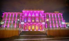 Casa Rosada, or Pink House, is the residence and office of the president of Argentina in Buenos Aires.