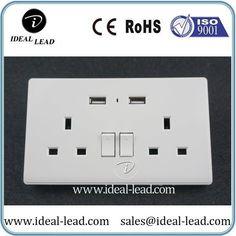Dongguan Dual UK USB Wall Switch and Socket Nigeria