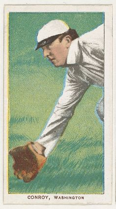 Conroy, Washington, American League, from the White Border series (T206) for the American Tobacco Company