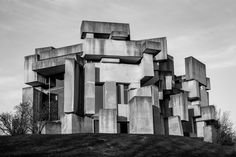 Fritz Wotruba, Church of the Most Holy Trinity, or the Wotruba Church. Vienna, 1964-76.