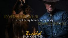 Buckled (Trails of Sin, by Pam Godwin Nora Roberts, Teaser, Romance, Books, Movies, Movie Posters, Romance Film, Romances, Libros