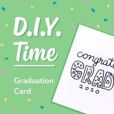 Show you favorite Grad how much you care by designing a sweet hand-drawn graduation card!