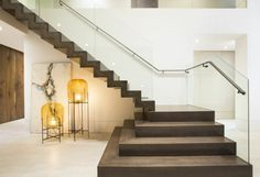aménagement sous escalier moderne idees design objet d'art