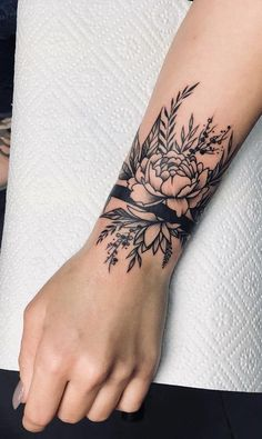 Wrist tattoos with meaning, wrist tattoos for women, small wrist tattoos, . - Flower Tattoo Designs - Wrist tattoos with meaning Wrist tattoos for women Small wrist tattoos - Hand Tattoos, Unique Wrist Tattoos, Wrist Tattoos For Women, Tattoos For Women Small, Cute Tattoos, Gorgeous Tattoos, Flower Tattoos On Wrist, Tattoos Of Flowers, Unique Women Tattoos