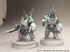 Putrid Blightkings: Death Guard Terminator Conversion