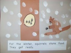 """book to make regarding hibernation that goes along with the book """"Animals in Winter""""."""